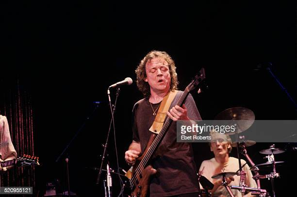 Jack Bruce and Ginger Baker performing at the Bottom Line in New York City on December 7 1989