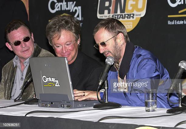 Jack Bruce Eric Carmen and Ringo Starr