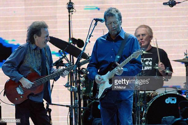 Jack Bruce Eric Clapton and Ginger Baker of Cream
