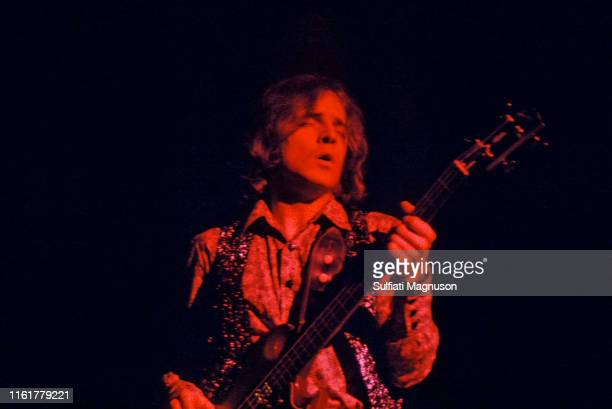 """Jack Bruce, eyes closed, under red lights, singing and playing his bass. The Cream was indeed """"the cream"""" of British rock musicians, and the..."""