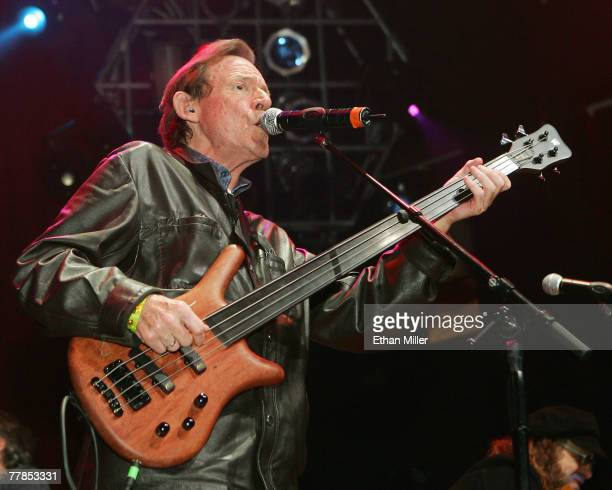 Jack Bruce of Cream performs during the Rock 'n' Roll Fantasy Camp's 10th anniversary Campalooza concert at the House of Blues inside the Mandalay...