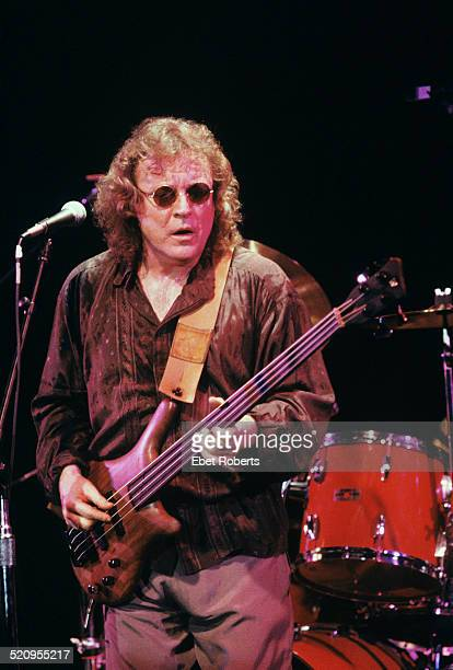 Jack Bruce performing at the Bottom Line in New York City on December 7, 1989.