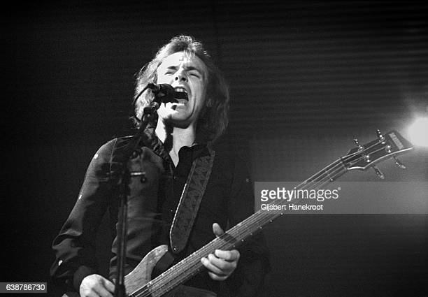 Jack Bruce performs on stage Amsterdam Netherlands 1975