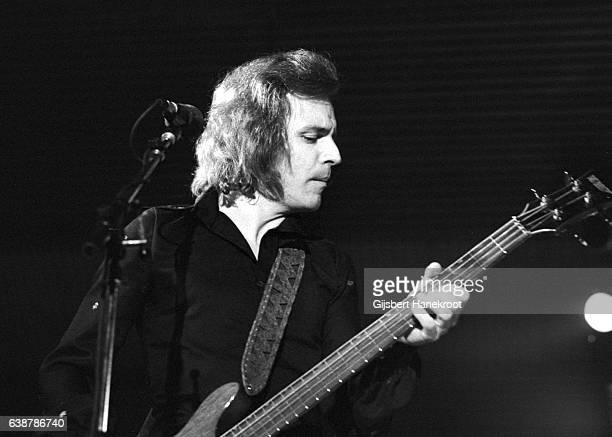 Jack Bruce performs on stage Amsterdam, Netherlands, 1975.