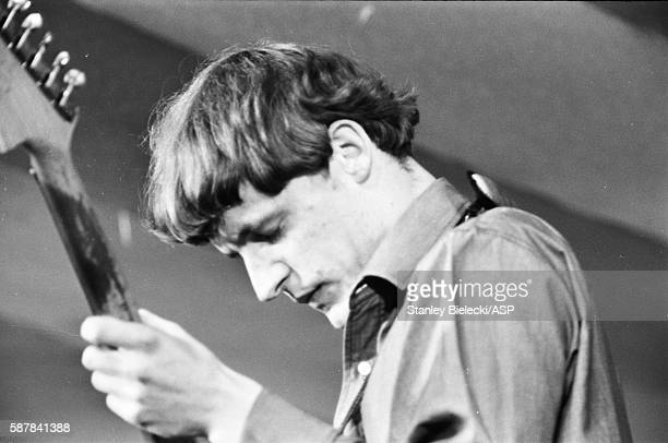 Jack Bruce performs on stage with the Graham Bond Organisation at the National Jazz and Blues Festival, Richmond, United Kingdom, 7th August 1965.