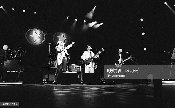Jack Bruce performs with Ringo Starr and His AllStarr Band at the Universal Amphitheatre in Los Angeles California on March 3 1997