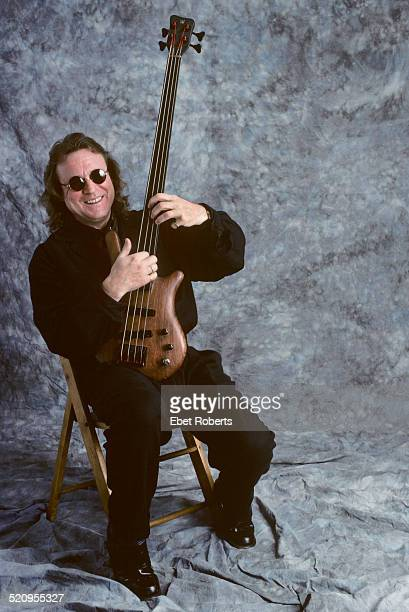 Jack Bruce studio portrait in New York City on November 26, 1989.