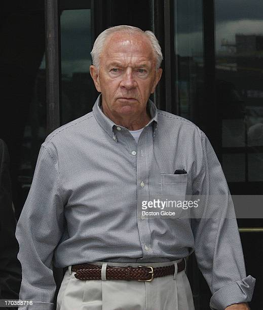 Jack Bulger brother of accused mobster James Whitey Bulger leaving the courthouse James Whitey Bulger's trial begins at the John Joseph Moakley...