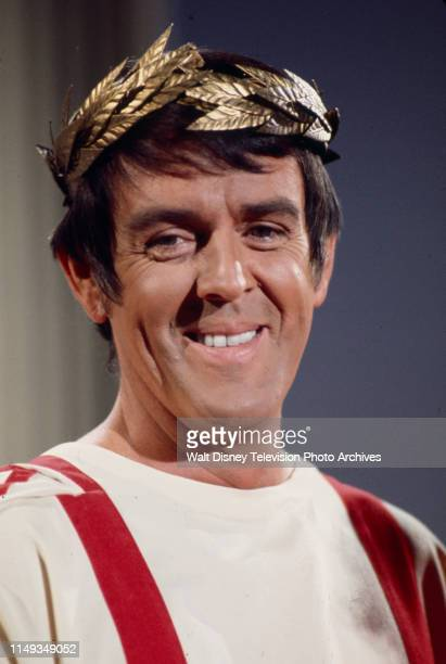 Jack Burns appearing in Roman Empire themed sketch on the ABC tv series 'The Burns and Schreiber Comedy Hour'