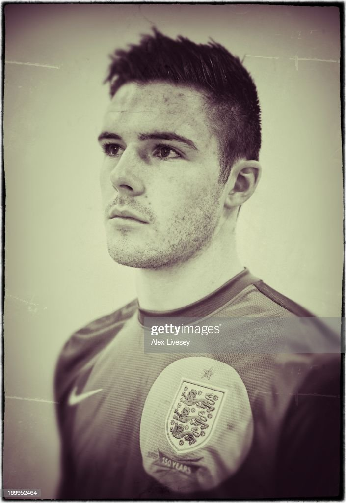 Jack Butland of England Under-21s poses for a portrait at St Georges Park on March 19, 2013 in Burton-upon-Trent, England.