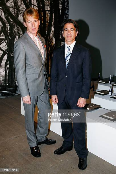 Jack Calhoun and Peter DeLuca attend BANANA REPUBLIC 30 Fall Holiday Collection 2008 at EXIT ART on April 29 2008 in New York City