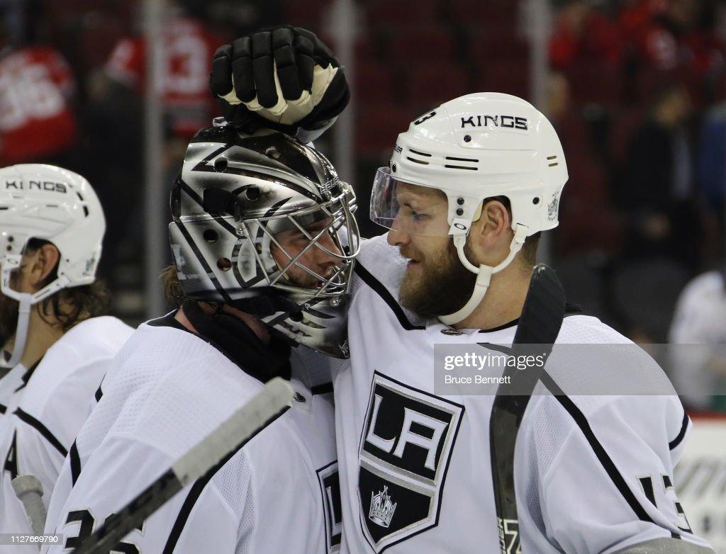 Los Angeles Kings v New Jersey Devils : News Photo