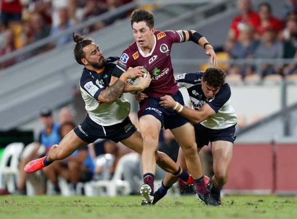 AUS: Super Rugby AU Rd 8 - Reds v Brumbies