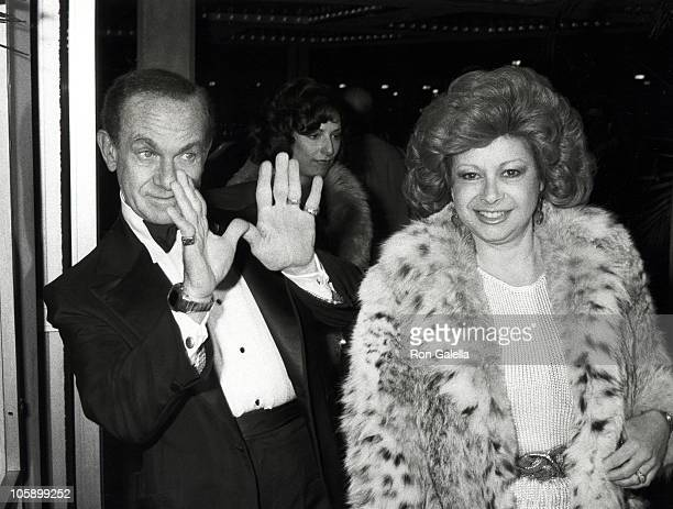 Jack Carter and Wife during 34th Annual Directors Guild of America Awards at Beverly Hilton Hotel in Beverly Hills California United States