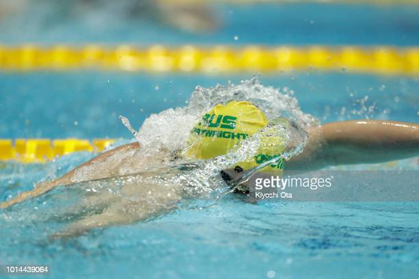 Jack Cartwright of Australia competes in the Men's 4x200m Freestyle Relay on day two of the Pan Pacific Swimming Championships at Tokyo Tatsumi...