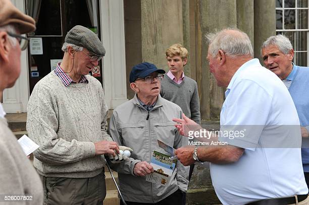 Jack Charlton and Nobby Stiles briefed by Ron Flowers and watched by Norman Hunter Twelve of the England 1966 FIFA World Cup winning squad were...