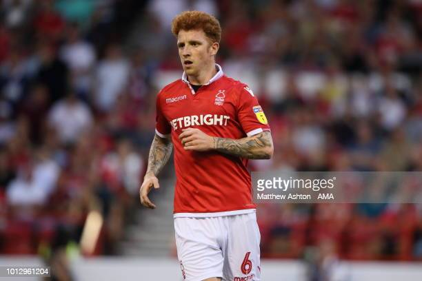 Jack Colback of Nottingham Forest during the Sky Bet Championship match between Nottingham Forest v West Bromwich Albion at City Ground on August 7...