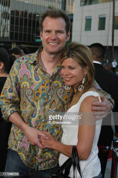 Jack Coleman and Beth Coleman during The Weinstein Company and Lionsgate Films Present the Los Angeles Screening of Sicko at The Academy of Motion...