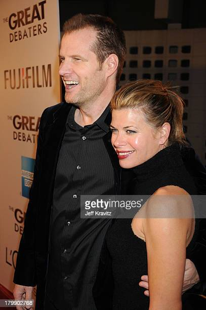 Jack Coleman and Beth Toussaint at the premiere of The Great Debaters at the Arclight Theater on December 11 2007 in Hollywood California