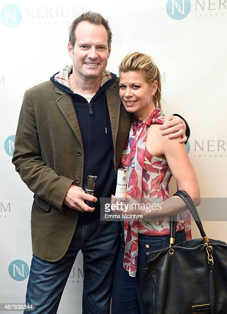 Jack Coleman and Beth Toussaint attend the 6th annual Premiere Celebrity Gift Style Lounge with Nerium International gifting their Optimera Formula...