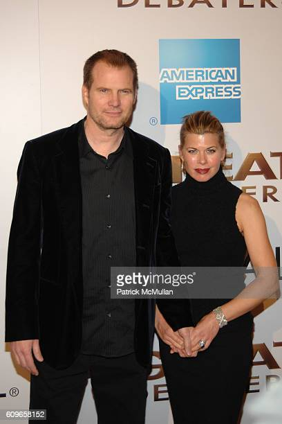 Jack Coleman and Beth Toussaint Coleman attend The Great Debaters Premiere Arrivals at Arclight Cinemas on November 11 2007 in Hollywood CA
