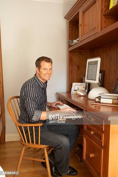 Jack Coleman at Home in Los Angeles California