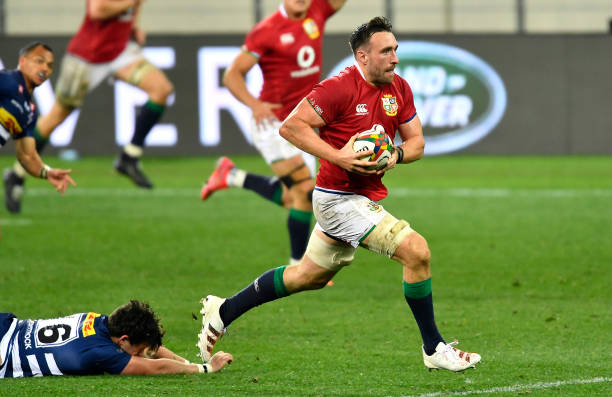 CAPE TOWN, SOUTH AFRICA - JULY 17: Jack Conan of The British & Irish Lions during the Tour match between DHL Stormers and British and Irish Lions at Cape Town Stadium on July 17, 2021 in Cape Town, South Africa. (Photo by Ashley Vlotman/Gallo Images/Getty Images)