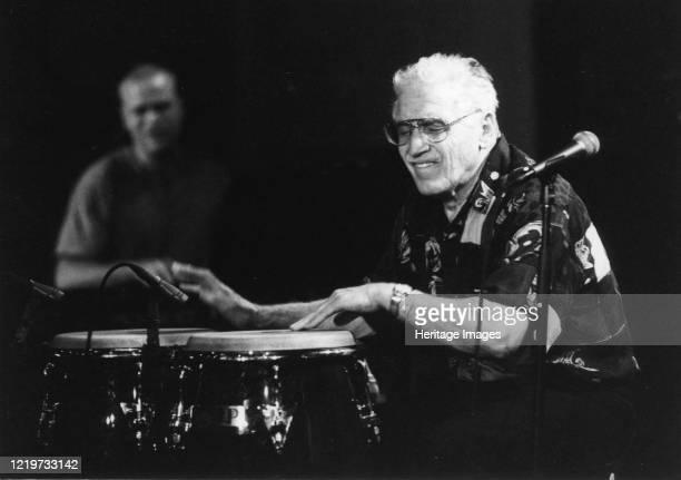 Jack Constanzo, North Sea Jazz Festival, The Hague, Netherlands, 2003. Artist Brian Foskett.