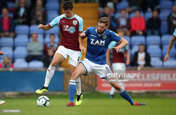 Jack Cork of Burnley during the PreSeason Friendly between Macclesfield Town and Burnley at Moss Rose on July 20 2018 in Blackburn England