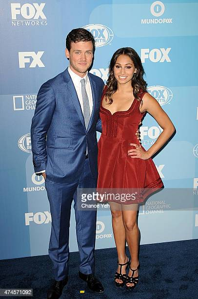 Jack CutmoreScott and Meaghan Rath attend 2015 FOX Programming Presentation at Wollman Rink Central Park on May 11 2015 in New York City