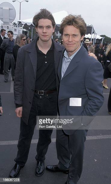 Jack DaFoe and Willem DaFoe during The 16th Annual IFP/West Independent Spirit Awards at Santa Monica Beach in Santa Monica, California, United...