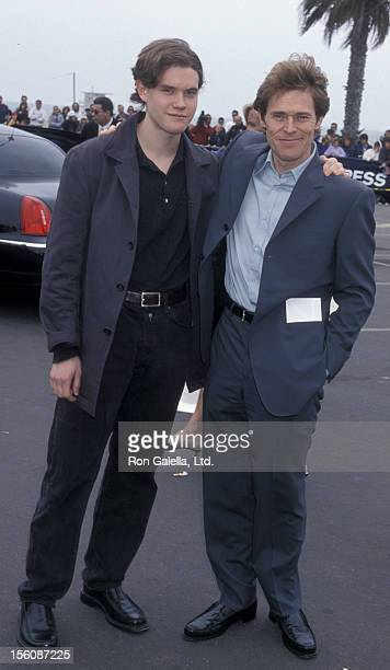 Jack DaFoe and Willem DaFoe during The 16th Annual IFP/West Independent Spirit Awards at Santa Monica Beach in Santa Monica California United States