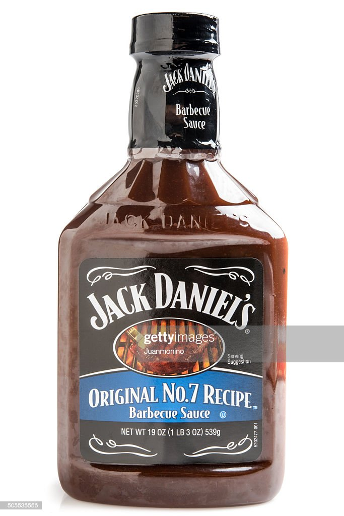 Jack Daniels Original No 7 Recipe Barbecue Sauce : Stock Photo