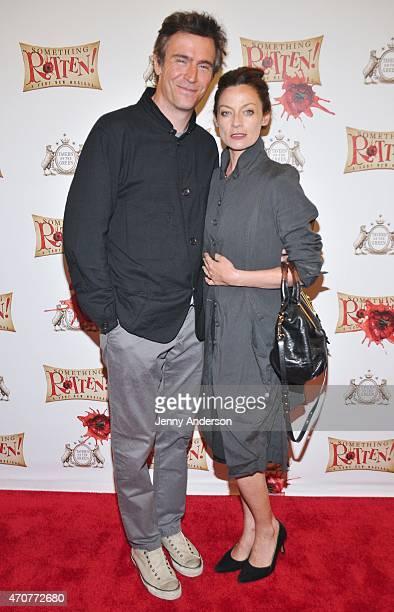 Michelle Gomez And Jack Davenport