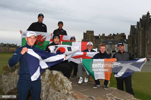 Jack Davidson of Wales Jack Singh Brar of England Yikeun Chang of Korea Grant Forrest of Scotland Luca Cianchetti of Italy Scott Gregory of England...