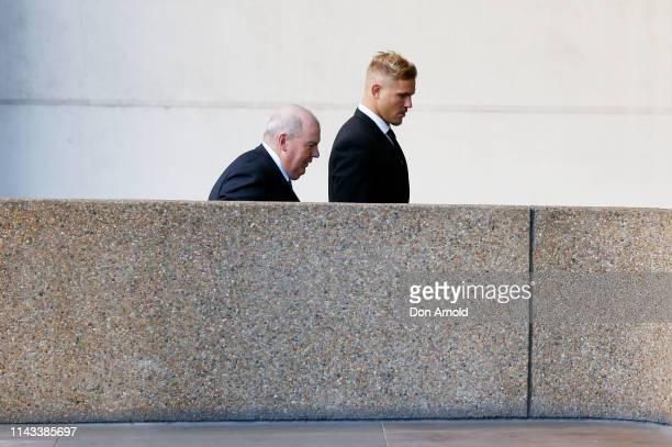 Jack de Belin arrives at Federal Court on April 18 2019 in Sydney Australia