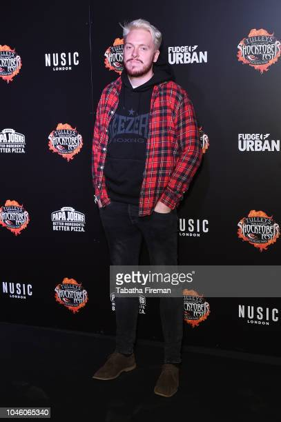 Jack Dean attends the press night for Shocktober Fest at Tulleys Farm on October 5 2018 in Crawley West Sussex