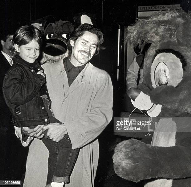 "Jack DeFoe and Willem DaFoe during ""Oliver & Company"" Premiere - November 13, 1988 at Ziegfeld Theater in New York City, NY, United States."