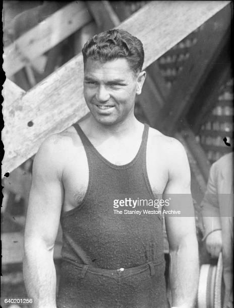Jack Dempsey poses for a portrait circa 1926