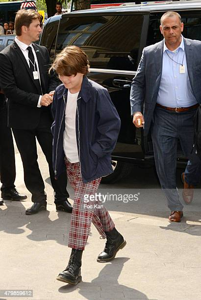 Jack Depp Attends the Chanel show as part of Paris Fashion Week Haute Couture Fall/Winter 2015/2016 on July 7 2015 in Paris France