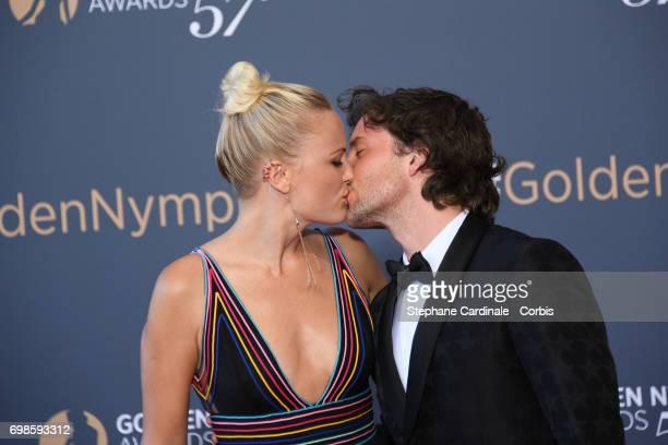Jack Donnelly and Malin Akerman attend the 57th Monte Carlo TV Festival Closing Ceremony on June 20 2017 in MonteCarlo Monaco