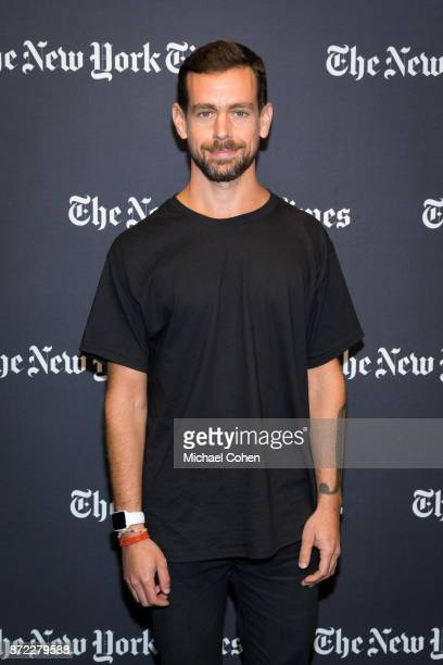 Jack Dorsey attends The New York Times 2017 DealBook Conference at Jazz at Lincoln Center on November 9 2017 in New York City