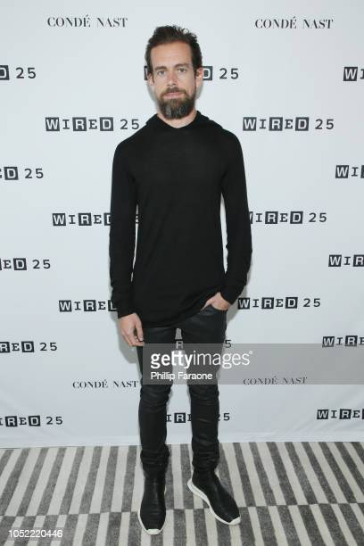 Jack Dorsey attends WIRED25 Summit WIRED Celebrates 25th Anniversary With Tech Icons Of The Past Future on October 15 2018 in San Francisco California