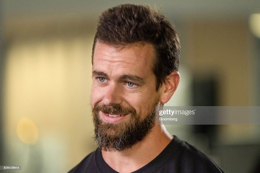 Jack Dorsey, chief executive officer and co-founder of Square Inc., speaks during a Bloomberg Television interview in San Francisco, California, U.S., on Wednesday, Aug. 2, 2017. Dorsey discussed earnings, sources of new growth, and his outlook for the company. Photographer: David Paul Morris/Bloomberg via Getty Images