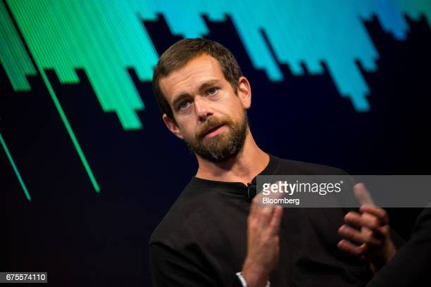 Jack Dorsey cofounder and chief executive officer of Twitter Inc speaks during an interview in New York US on Monday May 1 2017 Twitter announced a...