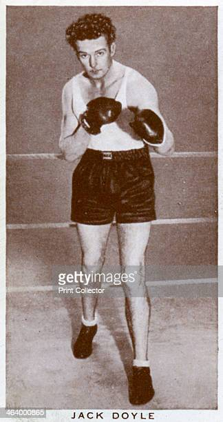 Jack Doyle Irish boxer 1938 Nicknamed the 'Gorgeous Gael' Doyle fought Jack Petersen for the British heavyweight title in 1933 but was disqualified...