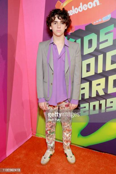 Jack Dylan Grazer attends Nickelodeon's 2019 Kids' Choice Awards at Galen Center on March 23 2019 in Los Angeles California