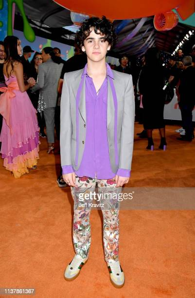 Jack Dylan Grazer attends Nickelodeon's 2019 Kids' Choice Awards at Galen Center on March 23, 2019 in Los Angeles, California.