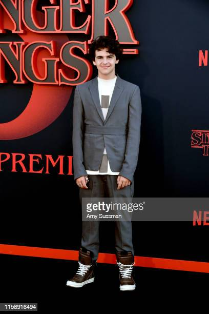 "Jack Dylan Grazer attends the premiere of Netflix's ""Stranger Things"" Season 3 on June 28, 2019 in Santa Monica, California."