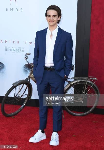 "Jack Dylan Grazer attends the Premiere Of Warner Bros. Pictures' ""It Chapter Two"" at Regency Village Theatre on August 26, 2019 in Westwood,..."